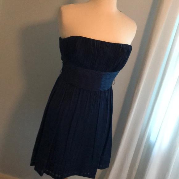 BCBG Navy Cocktail Dress